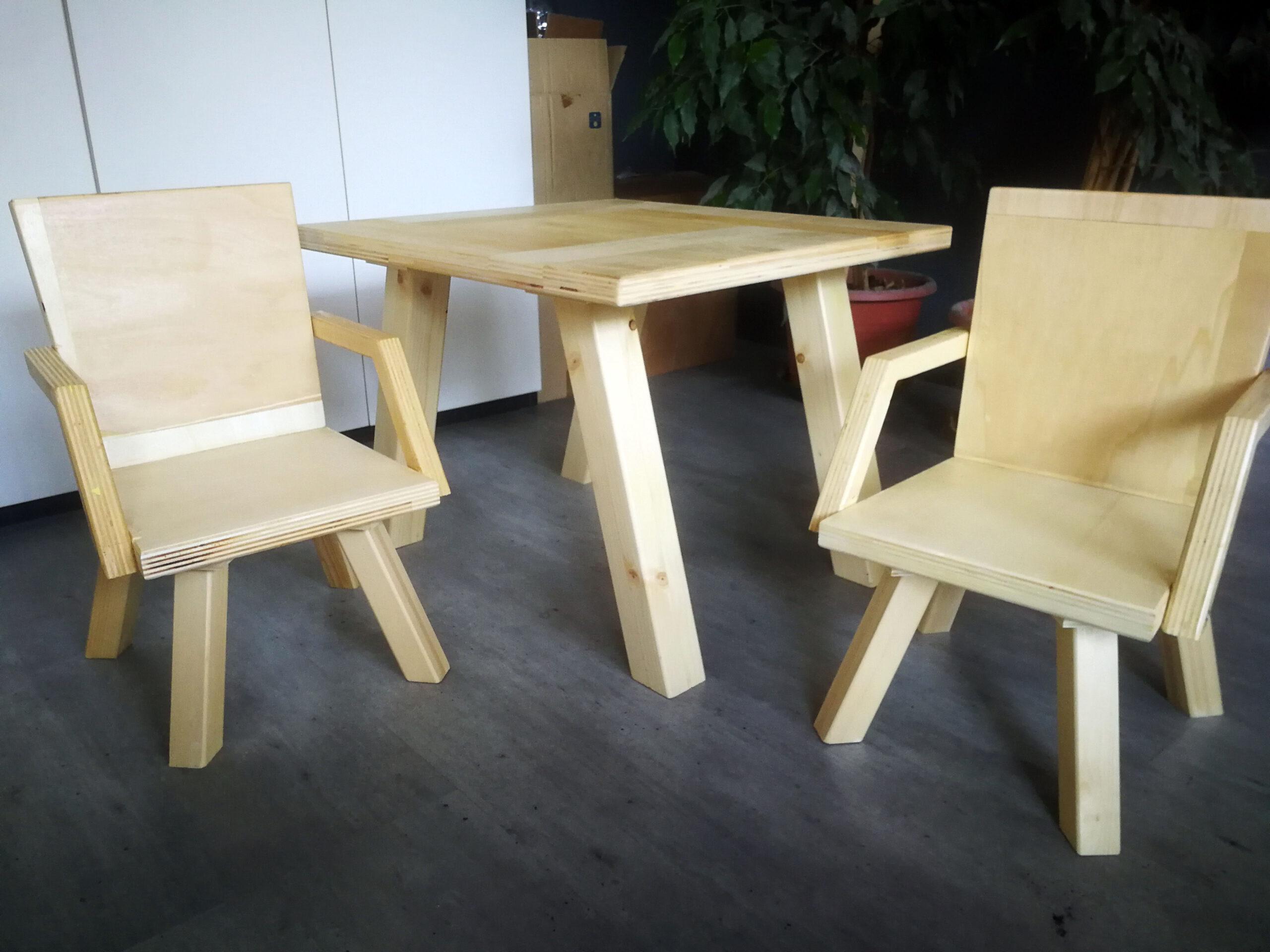 Tavolino e Sedie Bimbo