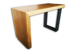 Tavolino da caffè in Rovere e ferro
