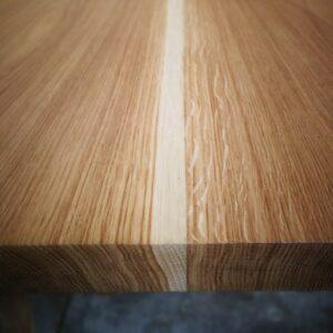 Tavolo in Rovere e ferro